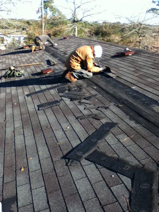handyman- roofing installation