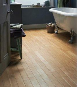flooring for small bathroom