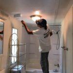 repainting ceiling
