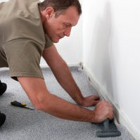 carpet installation professional